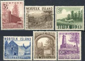 Norfolk Island #13-18 Views of Norfolk Island #18 Used Balance MH