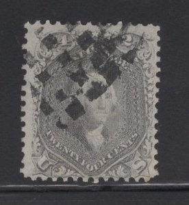 US Stamp Scott #78B 24c Gray Washington USED SCV $450