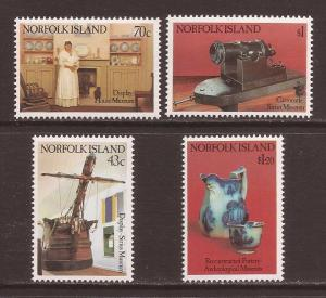 Norfolk Island scott #504-07 m/nh stock #T1500