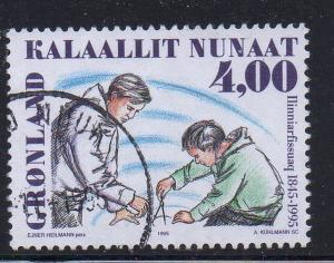 Greenland Sc 287 1995 Training College stamp used