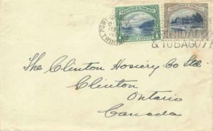 Trinidad 1c First Boca and 2c Agricultural College 1935 Port-of-Spain, Trinid...