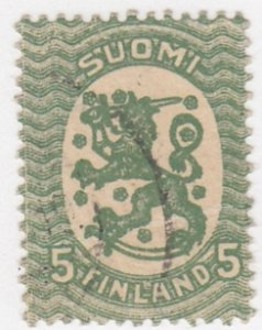 Finland, Sc 132, Used, 1927, Arms of the Republic