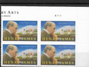 United States 2016 Henry James Block of 40 SC#5105 MNH