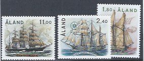 ALAND #31-33 MNH SCV $16.50 AT 15% OF CAT VALUE