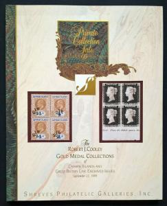 Auction Catalogue ROBERT J COOLEY Collection of CAYMAN ISLANDS Stamps and Covers