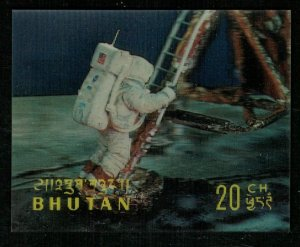 Space, 1967, Hologram, 3D Stamps, 20Ch (RT-148)