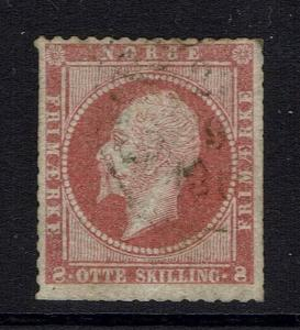 Norway SC# 5, Used, Trimmed -  Lot 030517