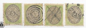 Danish West Indies #8 Small Faults Used - Stamp - CAT VALUE $25.00ea PICK ONE