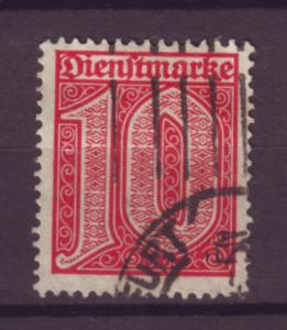 J20651 Jlstamps 1920-1 germany used #o2 numeral official