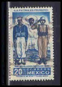 Mexico Used Very Fine ZA5558