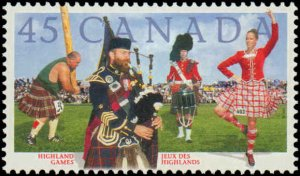 Canada #1655, Complete Set, 1997, Never Hinged