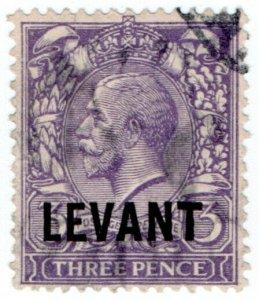 (I.B) Lebanon Postal : British Levant 3d (SG L19)