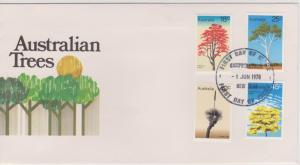 Australia Sc#677-680 First Day Cover