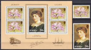Jersey #391-2, 392a MNH CV $4.95 (Z3811L)