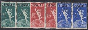 Southwest Africa - 1949 - SC 160-62 - Used - Complete set