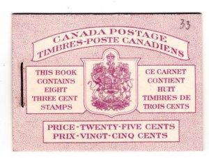 BK46 (Bilingual), Queen Elizabeth, Karth Issue, 1953, Canada, 2 panes of 4, 327b