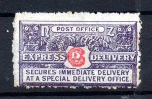 New Zealand 1903-39 6d Express Delivery mint (toning on gum) WS16773