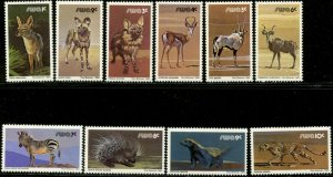 SOUTH WEST AFRICA Sc#447-56, 457-66 1980 Wild Animals Set Mint NH