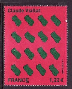 France-Sc#3199- id2-Unused NH Untitled Painting-2006-