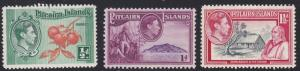 Pitcairn Islands # 1-3, Short Set, NH