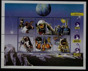 Chad 855 MNH s/s Space SCV13