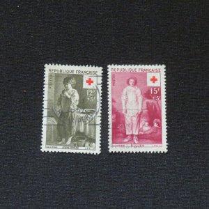 France  B308-309- used VF, NG.VLH. Cv. $2.35