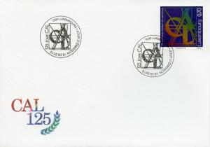 Luxembourg 2018 FDC CAL Cercle Artistique 125 Yrs 1v Set Cover Art Stamps