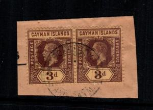 Cayman islands 56 used paircat $10.00