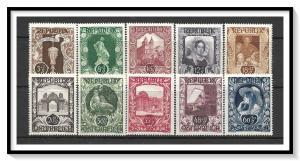 Austria #B208-B217 Semi-Postal Set MNH
