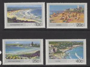 SOUTH AFRICA SG549/52 1983 TOURISM BEACHES MNH