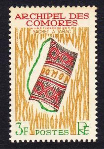 Comoro Is. Handicrafts Tobacco Pouch 1v 3f SG#36 SC#57 MI#55