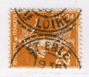 FRANCE - ca1930 - CAD FACTEUR-BOÎTIER T.1884  St EBLE / Hte LOIRE  sur N°235