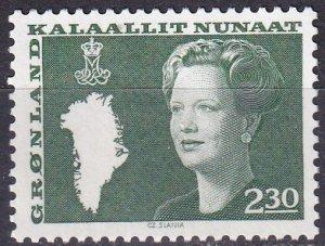 Greenland #126 MNH (K3001)