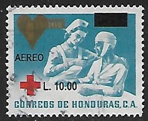 Honduras # C1199 - Nurse & Patient - OVPT - used   -{BR9}