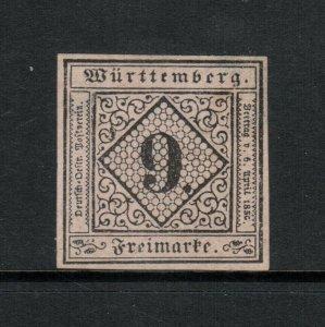 Wurttemberg #5 Very Fine Mint No Gum - Light Thins