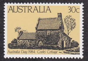 Australia # 889, Cooks Cottage, NH, 1/2 Cat.