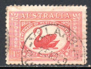AUSTRALIA 103 USED BIN $1.00 BIRD