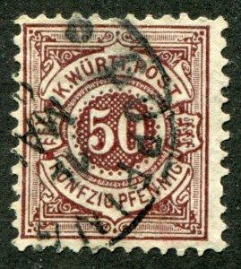 Wurtenberg   Sc.# 68a ? used