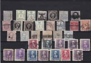 Spain Stamps Some Faults ref 22494