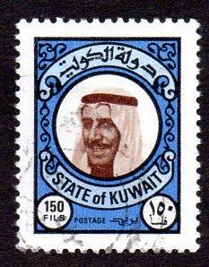 KUWAIT 728 USED SCV $6.00 BIN $2.00 POLITICS