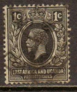 East Africa & Uganda   #40  Used  (1912)  c.v. $2.10