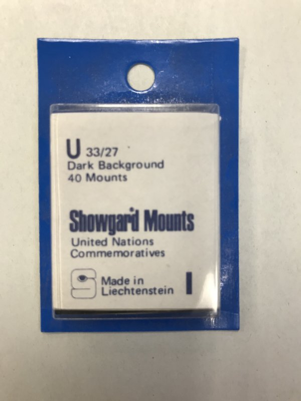 U Showgard Mounts Dark Background - 40 Mounts