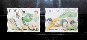 Ireland 1995 World Cup Rugby Championship South Africa Used Full Set A22P20F9045