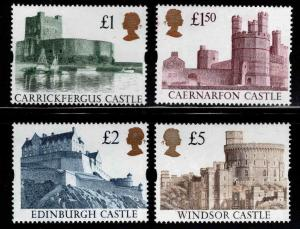 Great Britain Scott 1445-1448 MNH** syncopated with special ink