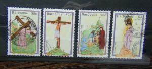 Barbados 1992 Easter set Used