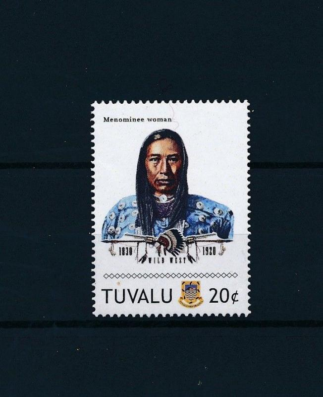 [80911] Tuvalu 2011 Native Americans Indians Menominee Woman MNH