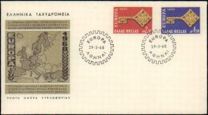 Greece, Europa, First Day Cover