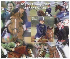 St Thomas & Prince - 2004 Athens Olympics STP805-12
