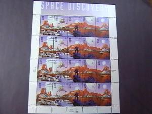 U.S.# 3238-3242(3242a)-MINT/NH-FULL PANE OF 20--SPACE FANTASY--1998