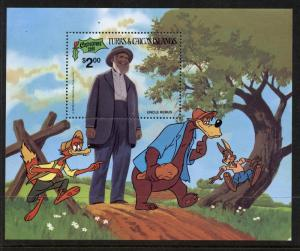 Turks & Caicos Islands 505 MNH Christmas, Disney, Uncle Remus